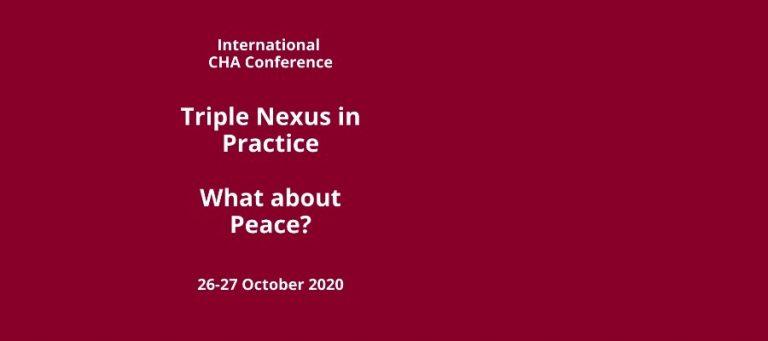 invitation CHA nexus conference